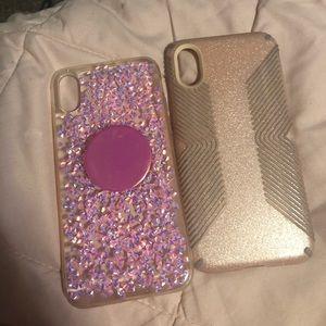 2 iphone x cases